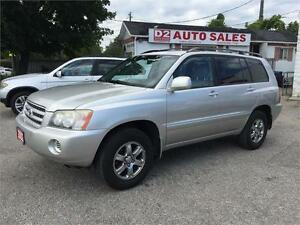 2002 Toyota Highlander All Wheel Drive/Clean Carproof/Certified