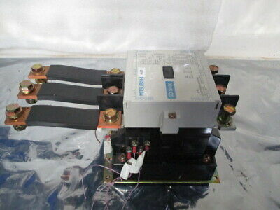 Mitsubishi Electric SD-N400 3-Pole 3-Phase DC Magnetic Contactor w/ Cu Buss Bars