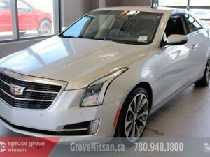 2015 Cadillac ATS Coupe AWD, LEATHER, SUNROOF, NAVIGATION, MUST