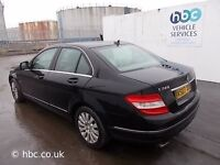 MERCEDES C220 2009 BREAKING FOR SPARES TEL 07814971951