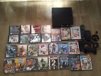 Playstation 3 (slightly temperamental) with games (PS1, PS2 and PS3) and accessories - CHEAP!