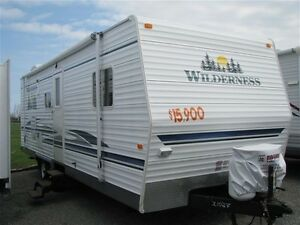 2007 Fleetwood Wilderness 27H Travel Trailer - $75