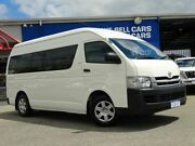 2010 Toyota Hiace TRH223R MY10 Commuter High Roof Super LWB White 4 Speed Automatic Bus Welshpool Canning Area Preview