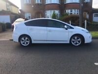 Toyota Prius T Spirit Pearl White Full TOYOTA History in very Clean Condition 1 Owner 2014 £12,495