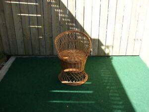 wicker chair Sarnia Sarnia Area image 1
