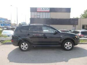 2013 Mitsubishi Outlander ES 4WD 7PASS AUTO 100%CERTIFIED