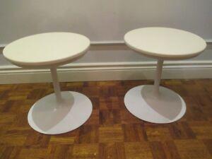 2 MCM VINTAGE TULIP STOOLS/chairs