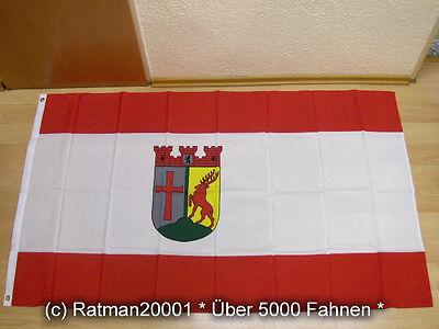 Hof Flagge (Fahnen Flagge Berlin Tempelhof Schöneberg - 90 x 150 cm)