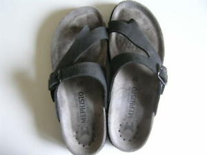 Ladies Womens Mephisto Thong Sandals Shoes Size 37