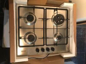 Neff T26BB56N0 60cm Four Burner Gas Hob - Stainless - Brand New