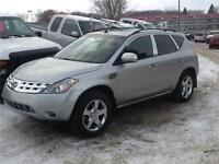2004 NISSAN MURANO AWD 164KMS $4250 NEEDS A LITTLE TLC