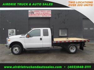 2012 Ford F-350 Dually XLT 4x4 Brand New Flat Deck!!