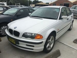 2001 BMW 318I E46 Executive White 4 Speed Auto Steptronic Sedan Georgetown Newcastle Area Preview