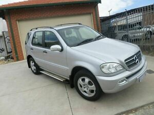 2003 Mercedes-Benz ML350 W163 MY03 Luxury Silver 5 Speed Sports Automatic Wagon Mount Lawley Stirling Area Preview