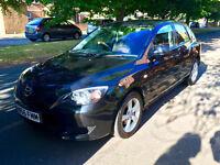 Mazda 3 - Great car all round, New MOT, 1.6 Black Hatchback