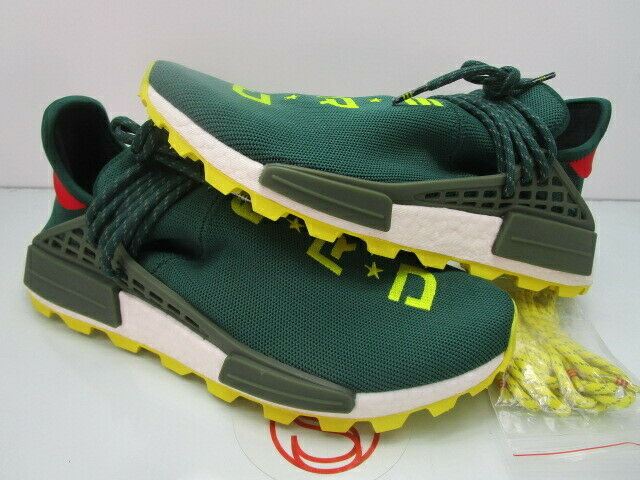 2018 Adidas Human Race NMD NERD GREEN YELLOW 10.5