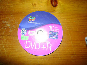 BRAND NEW Color Research DVD+R/RW Unopened 10pk London Ontario image 4
