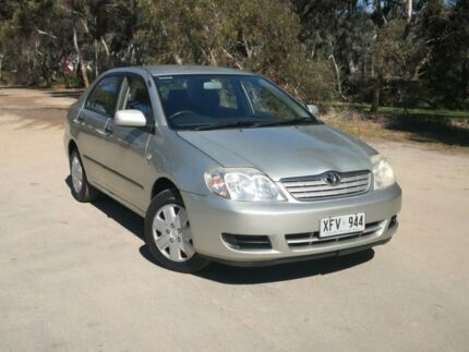 2005 Toyota Corolla ZZE122R 5Y Ascent Silver 4 Speed Automatic Sedan Mile End South West Torrens Area Preview