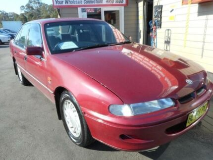 1996 Holden Berlina VSII Maroon 4 Speed Automatic Sedan Edgeworth Lake Macquarie Area Preview