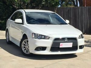 2012 Mitsubishi Lancer CJ MY12 Activ Sportback White 6 Speed Constant Variable Hatchback South Toowoomba Toowoomba City Preview
