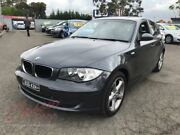 2008 BMW 120i E87 MY09 Grey 6 Speed Automatic Hatchback Lansvale Liverpool Area Preview