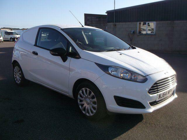 Ford Fiesta 1.5 TDCI VAN. AIR CON DIESEL MANUAL WHITE (2014)