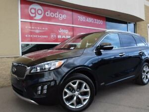 2017 Kia Sorento SX V6 All Wheel Drive / GPS Navigation / Back U