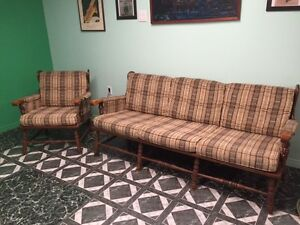 Couch and Chair with end tables