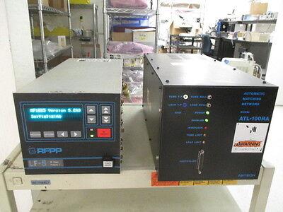 RFPP LF-5 RF Generator, AMAT 0920-01014, W/ AsTech ATL-100RA RF Match, 399402