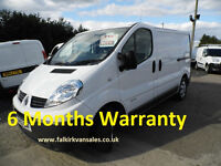 Renault Trafic 2.0 dCi SL29 Low Roof Van ****** LOW MILES ******