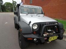2008 Jeep Wrangler JK MY08 Sport (4x4) Silver 6 Speed Manual Softtop St Marys Penrith Area Preview