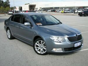 2012 Skoda Superb 3T MY12 Elegance DSG 118TSI Grey 7 Speed Sports Automatic Dual Clutch Sedan Maddington Gosnells Area Preview