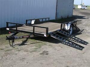 H&H 8.5' x 14' Steel ATV Trailer