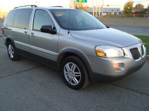 2008 PONTIAC MONTANA SV6 LS 7 PASSENGER ''ONE TAX INCLUDED'' West Island Greater Montréal image 3