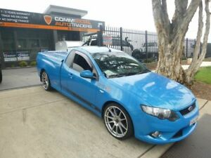 2009 Ford Falcon FG XR6 Ute Super Cab Blue 4 Speed Sports Automatic Utility