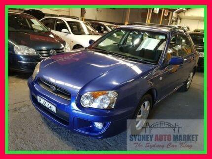 2003 Subaru Impreza S MY03 GX AWD Blue 5 Speed Manual Hatchback