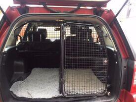 Land Rover Freelander 2 dog guard / crate