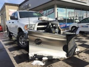 2018 Ram 2500 SLT- Crew Cab with Fisher V-plow Package
