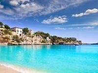 4 return flight tickets Bristol - Palma De Mallorca, 20.Jul-3.Aug