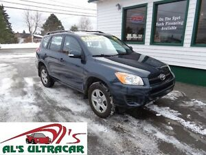 2011 Toyota RAV4 4X4 for only $169 bi-weekly all in!