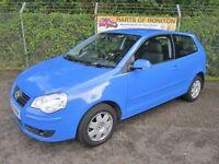 Volkswagen Polo 1.4 S 3DR Auto (blue) 2006
