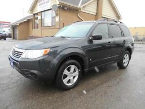 2010 SUBARU Forester X Sport AWD Automatic Certified 157,000KMs