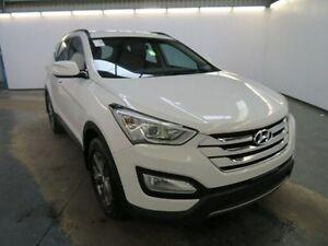 2012 Hyundai Santa Fe CM MY12 SLX CRDi (4x4) White 6 Speed Automatic Wagon Albion Brimbank Area Preview