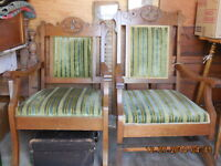 Antique Matching Chairs