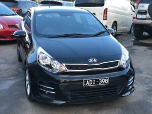 2015 Kia Rio UB MY15 S Premium Black 4 Speed Automatic Hatchback Burwood Whitehorse Area Preview