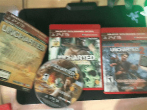 All 3 of The Uncharted ps3