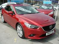 2013 MAZDA 6 2.2d Sport FULL LEATHER+SAT NAV