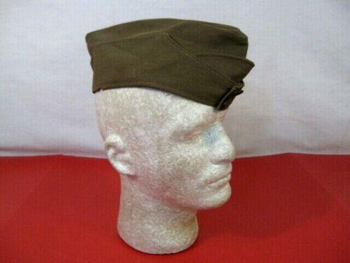 WWI US Army AEF Enlistedman Wool Overseas Garrison Cap 6 3/4  Early British Made