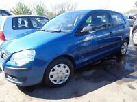 2007 07 reg volkswagen polo e 55 1.2 3 door mot for 1 year f s h 3 set of keys 3x we car £1495
