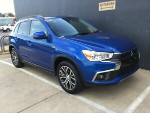 2017 Mitsubishi ASX XC MY17 LS 2WD Blue 6 Speed Constant Variable Wagon Stuart Park Darwin City Preview